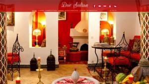 Site web riad Dar Sultan