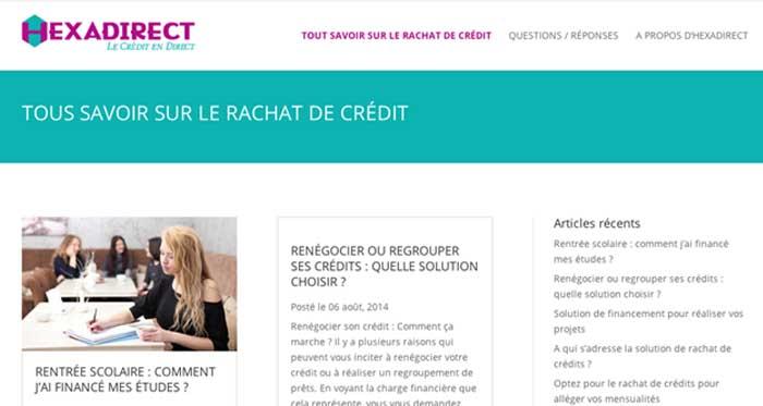 Blog rachat crédit France