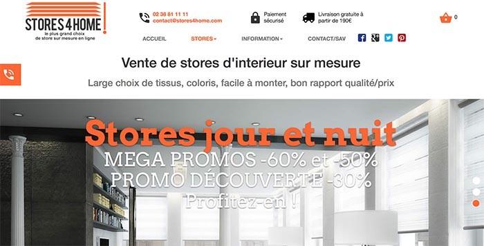 Stratégie e-commerce Stores4home.com