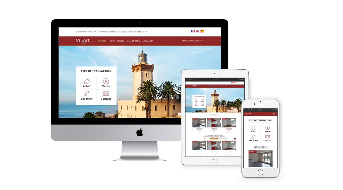 Site agence immobili re site web immobilier for Agence immobiliere site